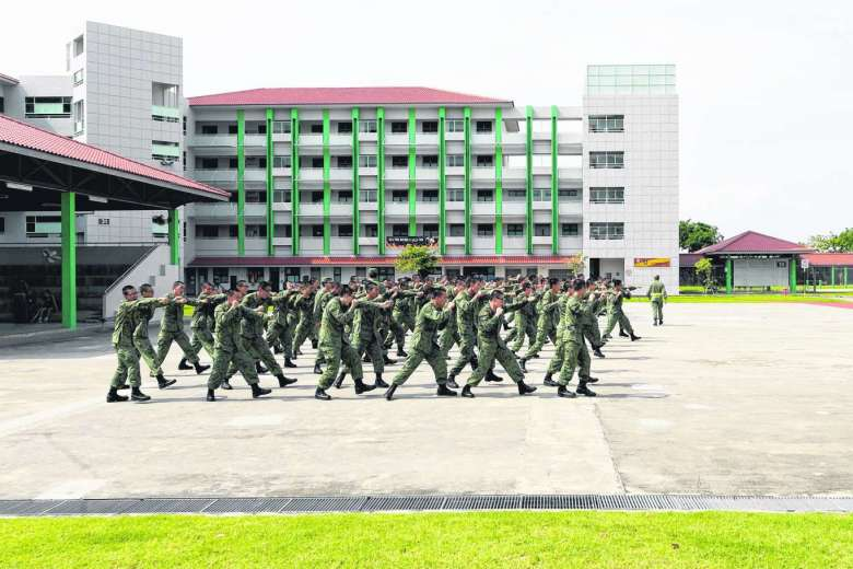 A total of 23 courses conducted by the SAF – including the Basic Military Training – are now accredited under the WSQ scheme. ST FILE PHOTO