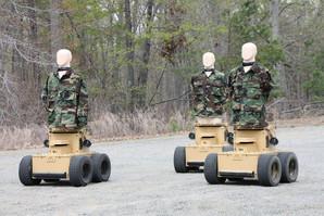 Marathon Targets - Jane's take on robotic humans @ IDEX'17