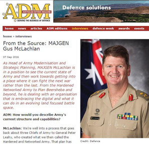 "Marathon Targets - Marathon ""one of the big things for the next 12 months"" says MAJGEN McLachlan"
