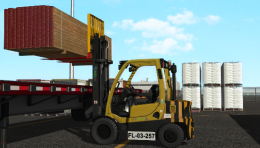 Forklift Training Pack Expands CM Labs' Instructional Offerings for Port Terminal Operators