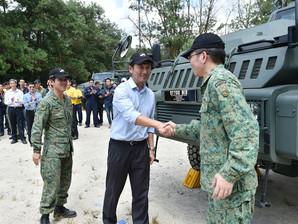 Belrex Protected Combat Support Vehicle (PCSV), Singapore