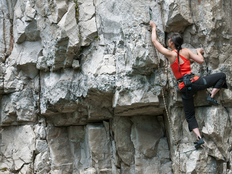 Five ways to start climbing out of that pit (especially on days you don't want to)