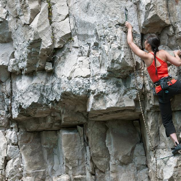 Escalar las rocas