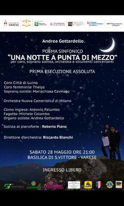 """Flyer """"Una Notte a Punta di Mezzo"""""""