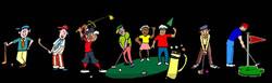 Les golfeurs nord bassin !