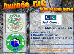 Coupe CIC/GNB Lanton 2014