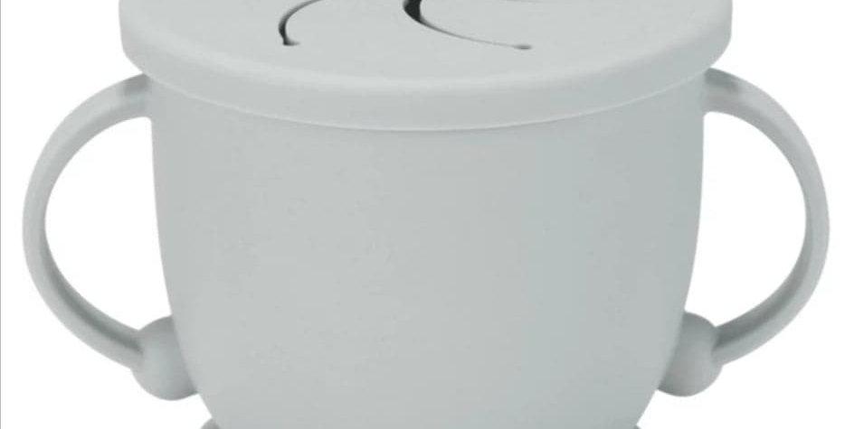 Cana pentru gustare anti-varsare gri