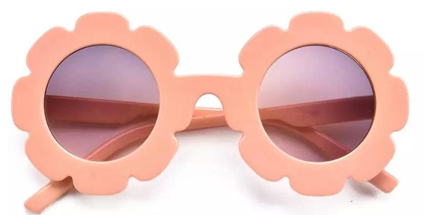 Ochelari de soare model floricica piersica