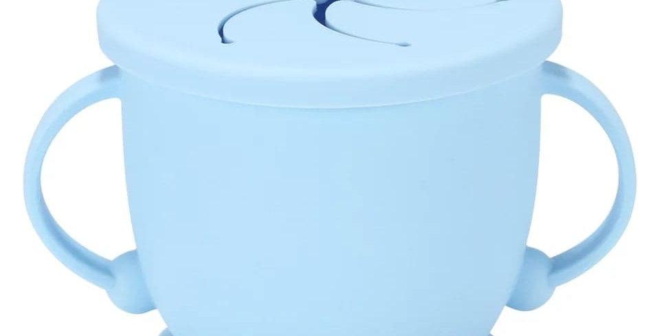 Cana pentru gustare anti-varsare albastra