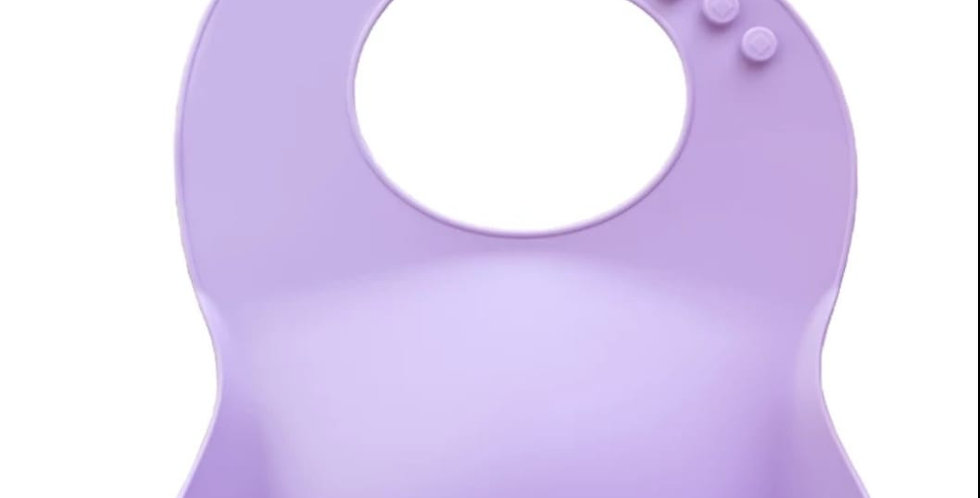 Bavetica din silicon moale - lila