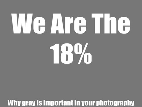 We Are The 18%