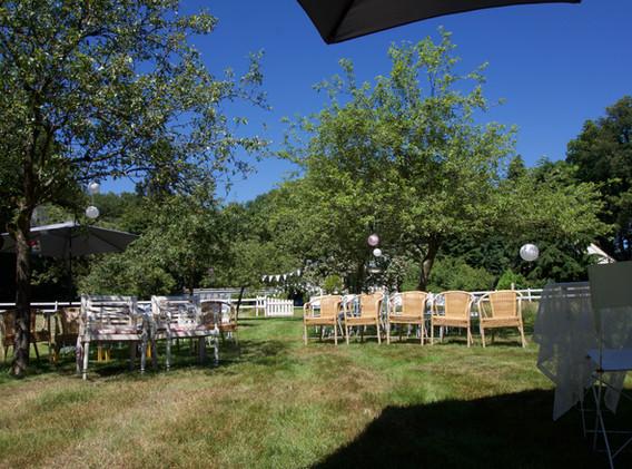 Bruiloft setting