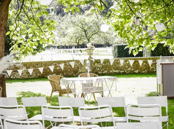 Setting bruiloft