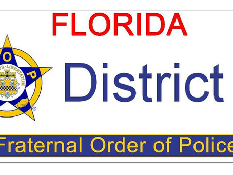 Upcoming FOP District 3 Meeting 12/01/2020, 1800 - 2000 hrs.