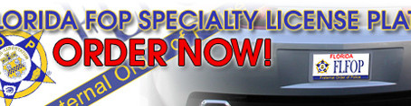 FOP Members, Get Your Florida FOP Specialty License Plate