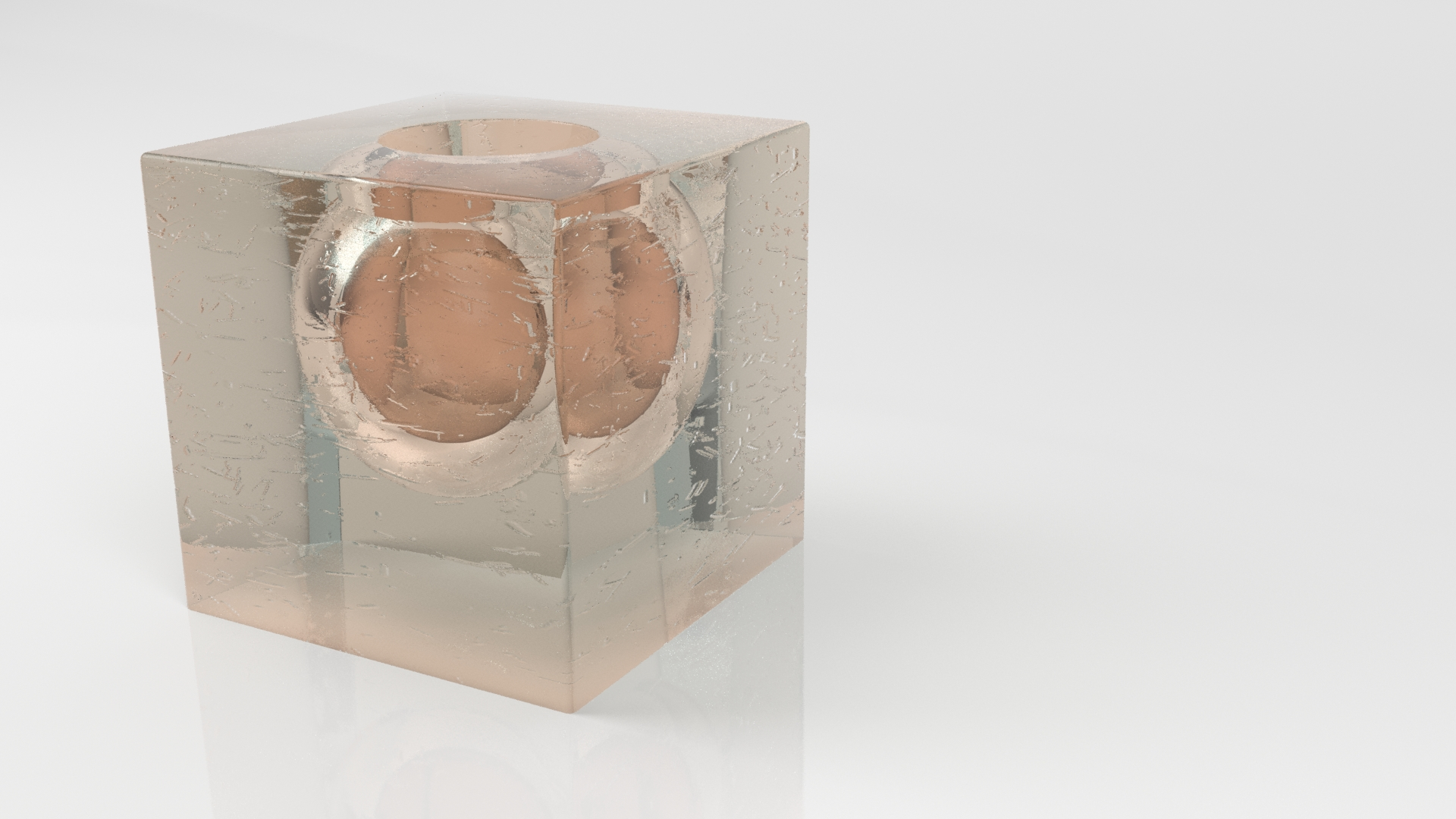 Hd Design Resine.Cube Design