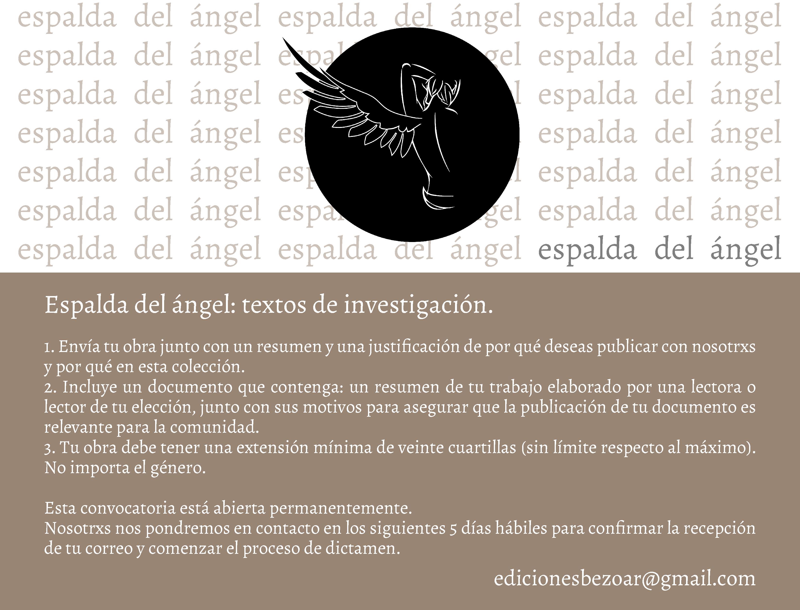 La espalda del ángel