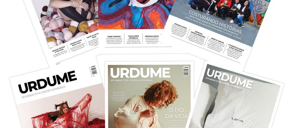 Escreva para a Revista Urdume