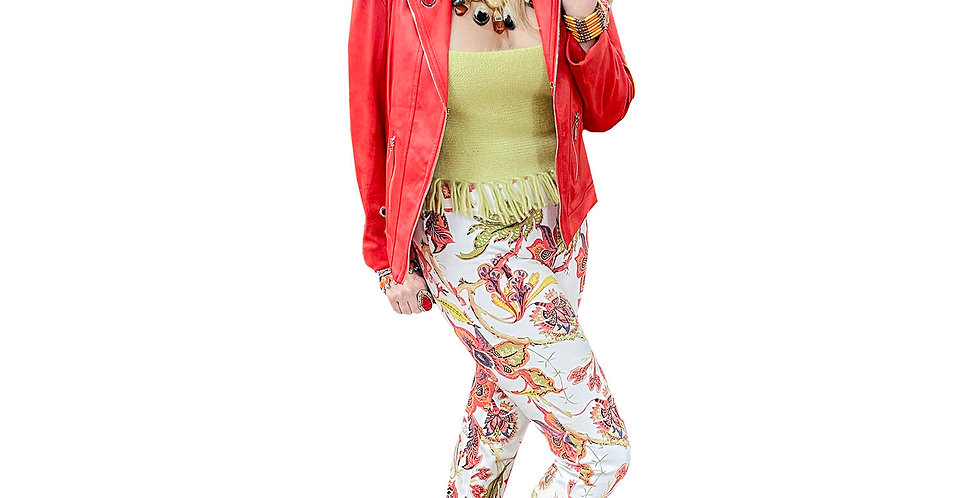 Super Soft Tropical Flower Miracle Pant