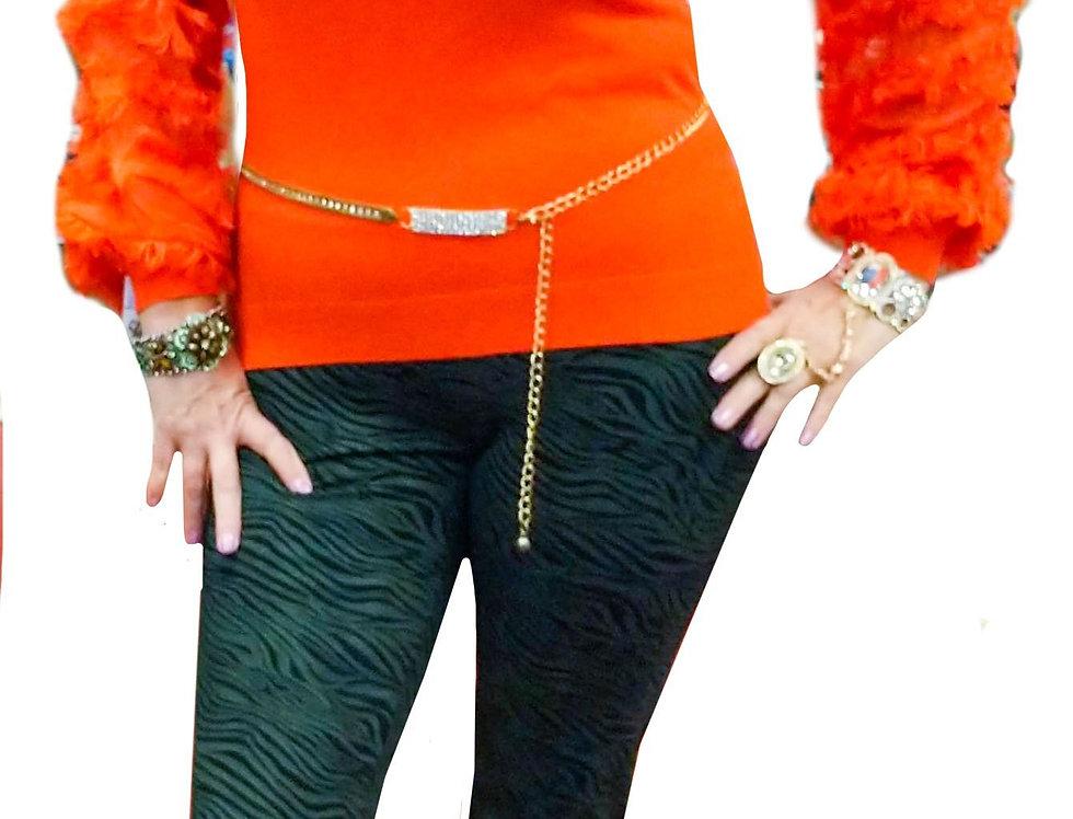 Mango Ribbon Sleeve Cashmere Touch Stretch Knit Tunic