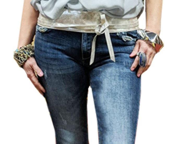 Italian Washable Silk Cap Sleeve Tunic