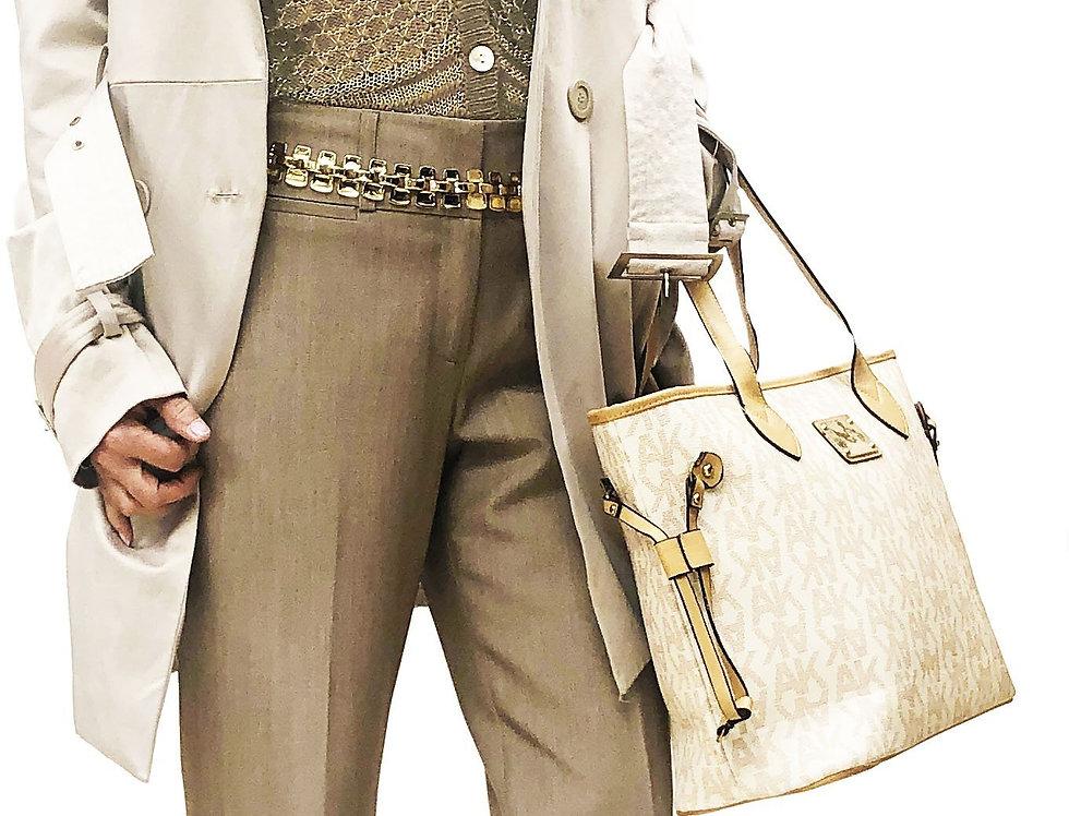 Gold Lurex Sheer Knit Cardigan