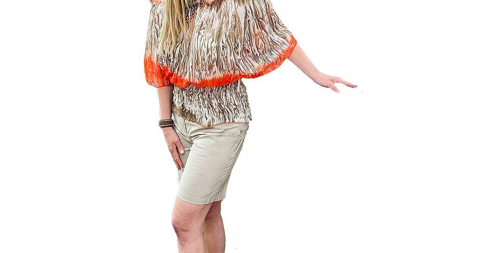Stretch Cotton Safari Shorts