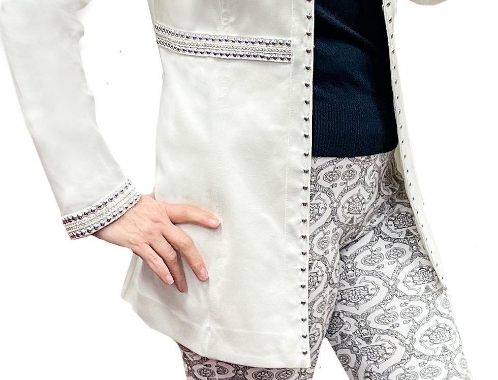 Super Soft Cotton Lycra Stretch Paisley Skinny Pant