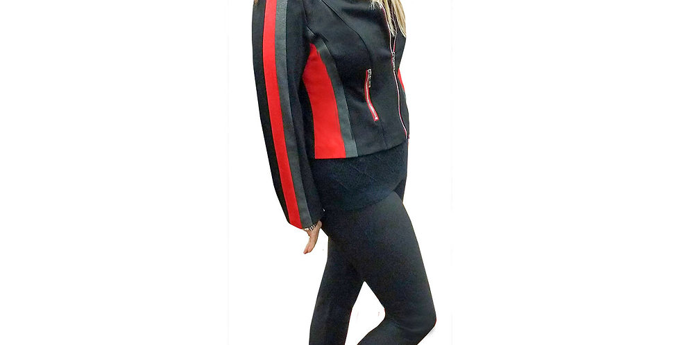 Sport Stretch Scuba Color-Block Jacket