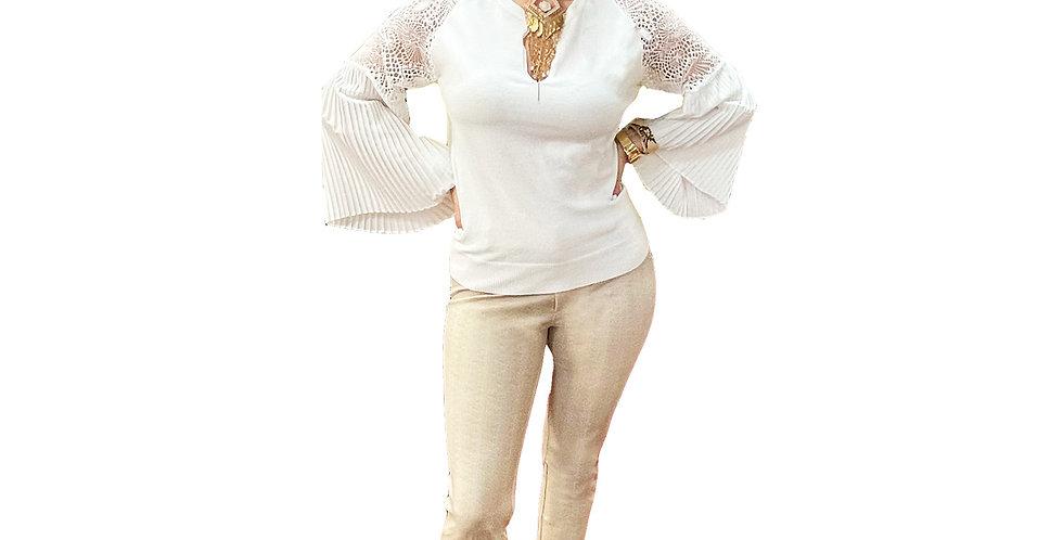 Linen-Look Miracle 5-Pocket Pant