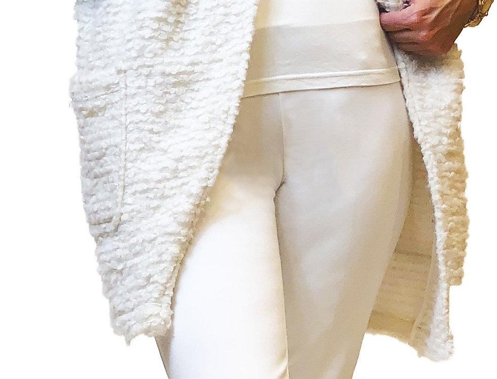 Knit Boucle Stretch Sweater Vest