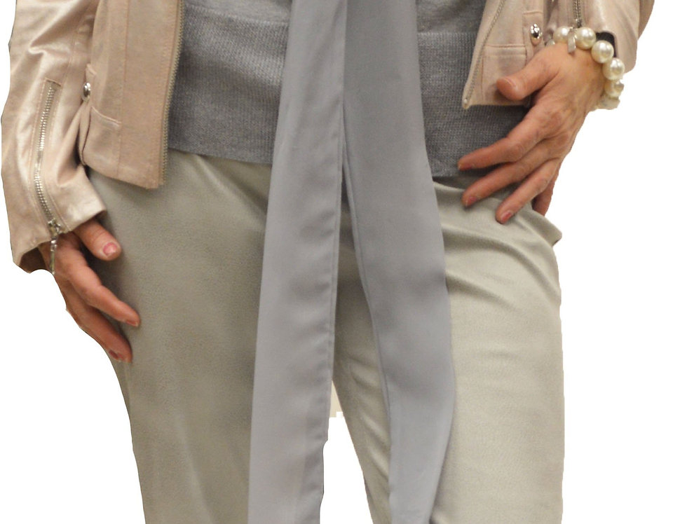Silver Python Stretch Miracle Pant