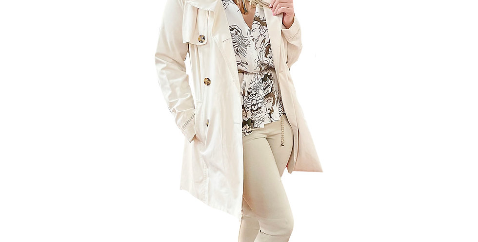 All-Weather Double Breasted Trench Coat