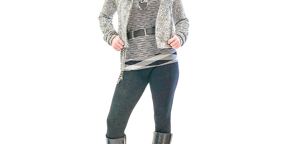 Tweed Boucle Moto Jacket