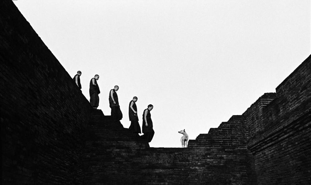 Nalanda's stairs