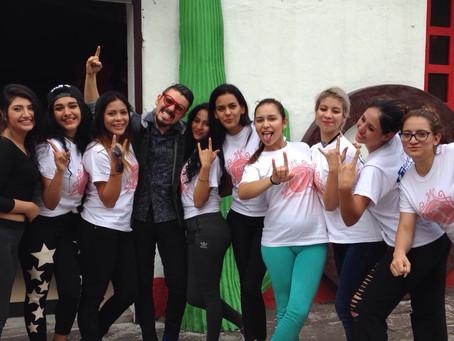 ONE en el Reality Show de TV Super Modelo Guatemala