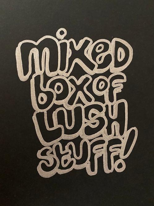 Mixed box of lush stuff