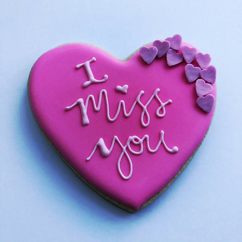 I Miss You Cookie