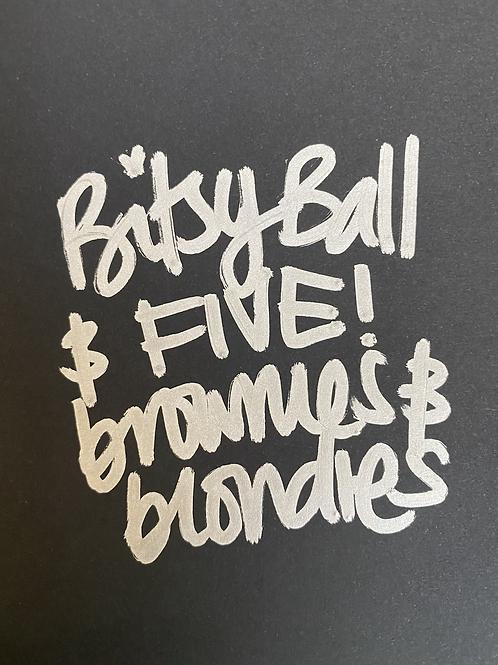 Ball & Brownies