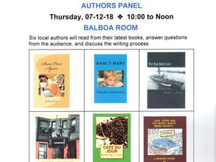 Performance Event - July 12, 2018 Huntington Beach Literary Services