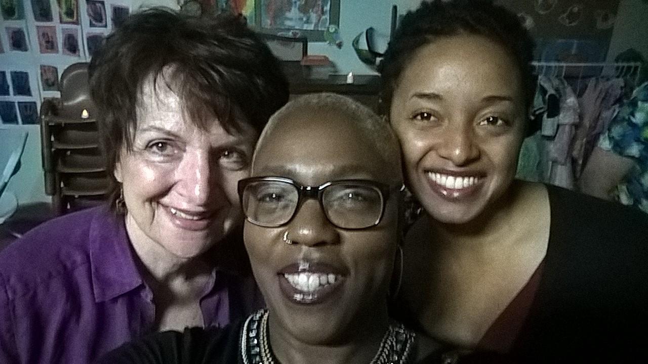 Carol Anne, Renee Chapman and Ayana Monet