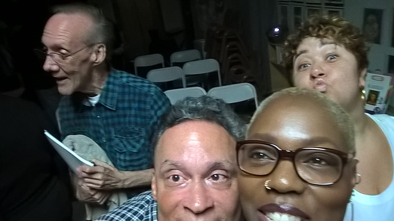 Charles Becker, Aubrey Osborn, Renee Chapman and Jaybird Love