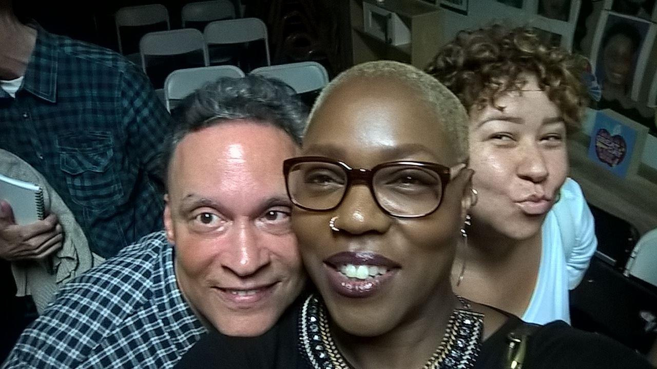 Aubrey Osborn, Renee Chapman and Jaybird Love