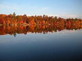 Traverse city cabin rental - view of Silver Lake