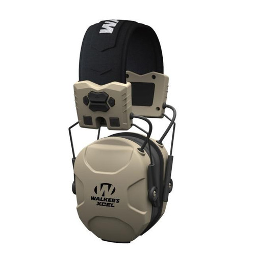 casque anti bruit electronique walkers xcel 100 beige. Black Bedroom Furniture Sets. Home Design Ideas