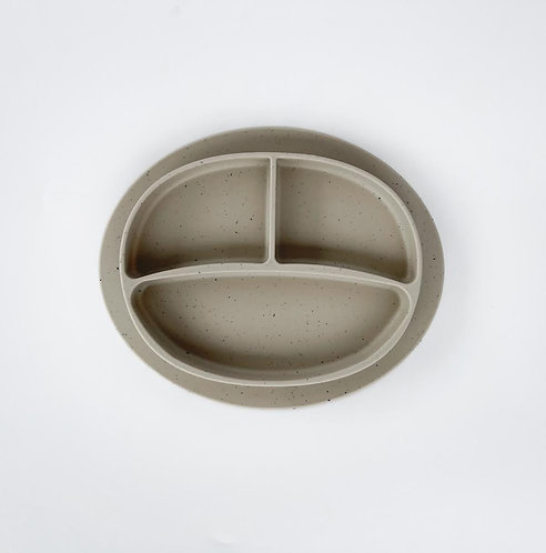 SILICONE PLATE - SPECKLED OAT