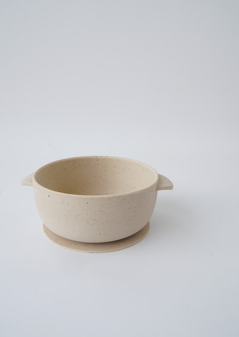 SILICONE BOWL - SPECKLED COOKIE