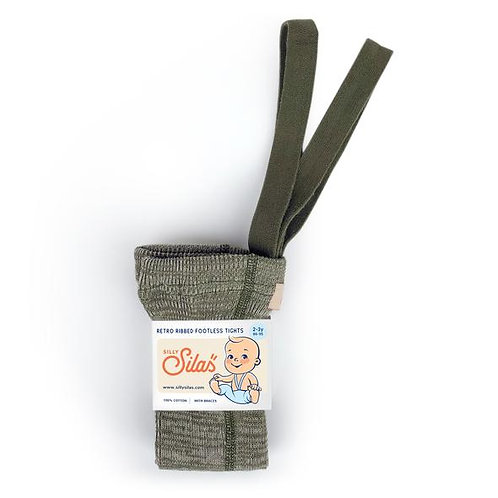 FOOTLESS CREAMY OLIVE