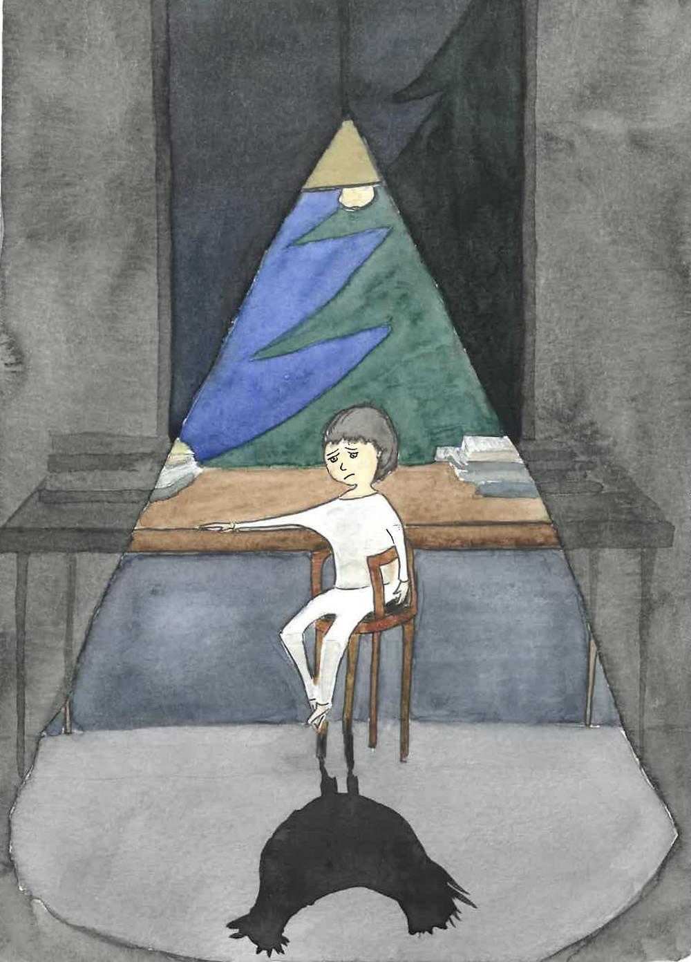 Арт-терапия: жалость к себе