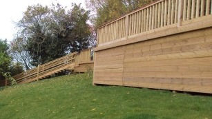 Hood carpentry, fencing and decking in Ipswich. Carpenters in Ipswich. Attic and loft conversions in Ipswich.